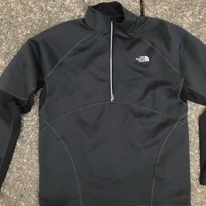 North face flash dry pull over men's athletic 1/4